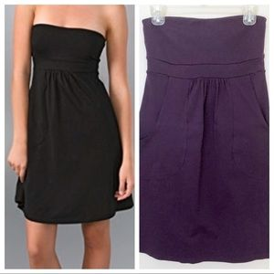 Susana Monaco Pocket Tube Dress Plum